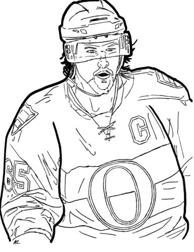 Hockey Colouring Book A Lubowitz